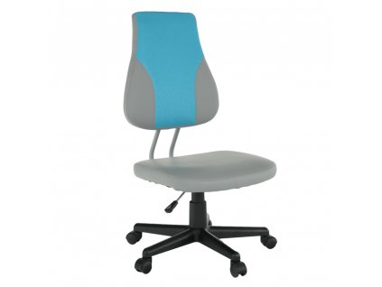 Detská rastúca stolička, sivá/modrá, RANDAL