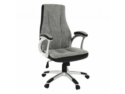 Kancelárske kreslo, sivá/čierna, TIMUR NEW