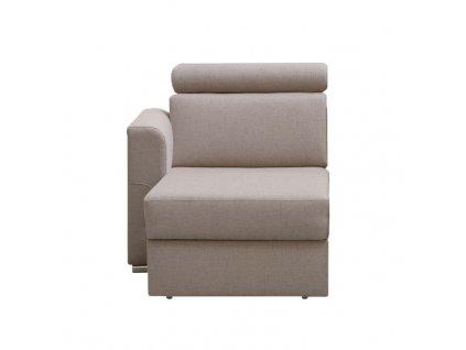 1-sed 1 BB  L na objednávku k luxusnej sedacej súprave, béžová, ľavý, MARIETA