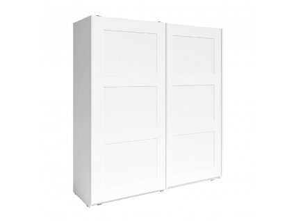 2- dverová skriňa, biela, RAMIAK