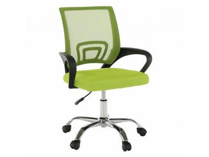 Kancelárska stolička, zelená/čierna, DEX 2 NEW