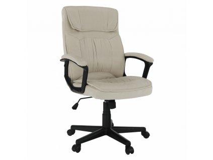Kancelárske kreslo, béžová, OLBA
