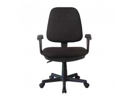 Kancelárska stolička, čierna, COLBY NEW