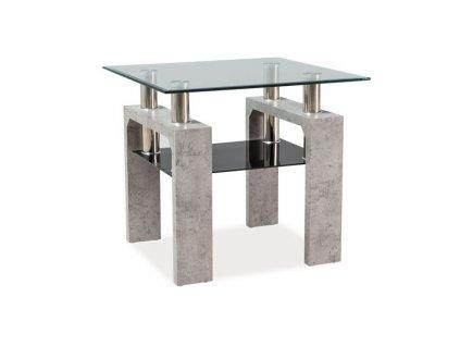 Signal Konferenčný stolík LISA D beton