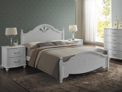 Signal Drevená manželská posteľ MALTA 160x200 cm
