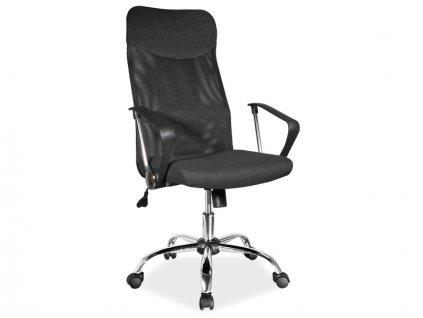 Signal Kancelárska stolička Q-025 čierna látka