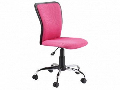 Signal Kancelárska stolička Q-099 ružová