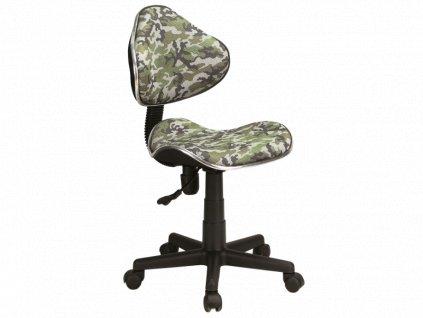 Signal Detská stolička Q-G2 maskáčový vzor