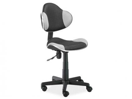 Signal Detská stolička Q-G2 sivo-čierna