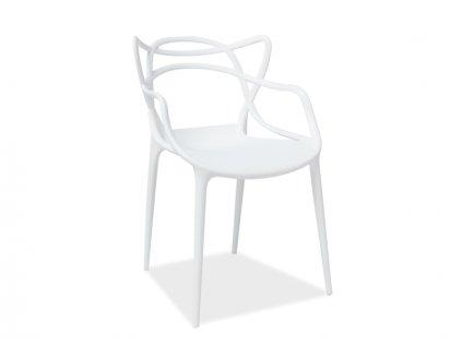 Signal Jedálenská stolička TOBY biela