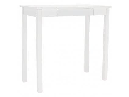 Konzolový stolík, biela, AMYNTAS