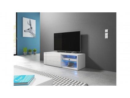 Renar BEST, televízny stolík, biely