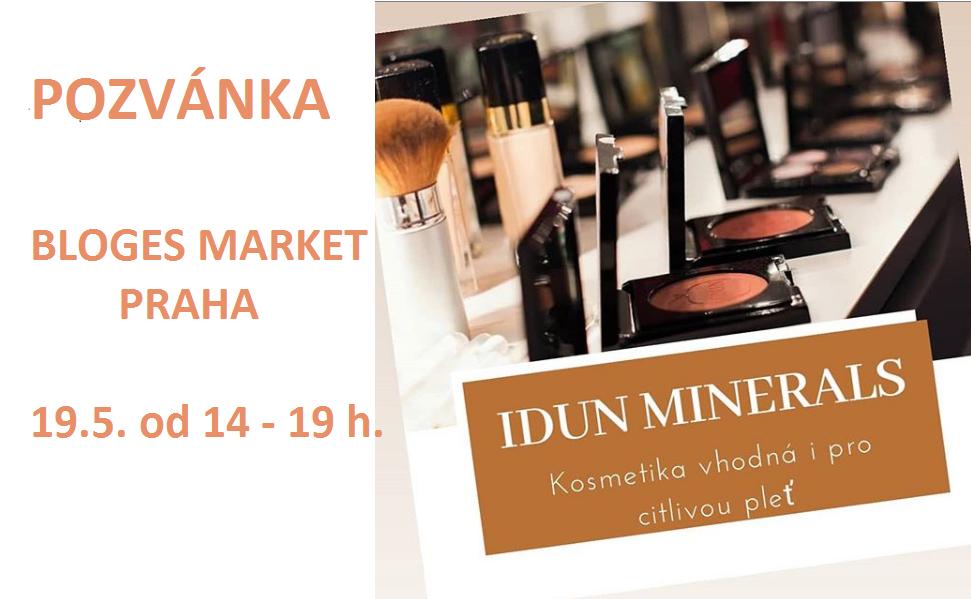 Setkáme se na Bloges Market Praha 19.5.2019