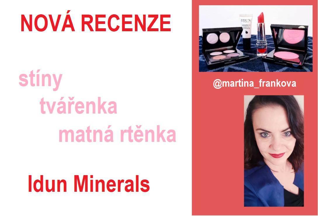 Už jste četli novou recenzi od známé blogerky Martiny Fraňkové?