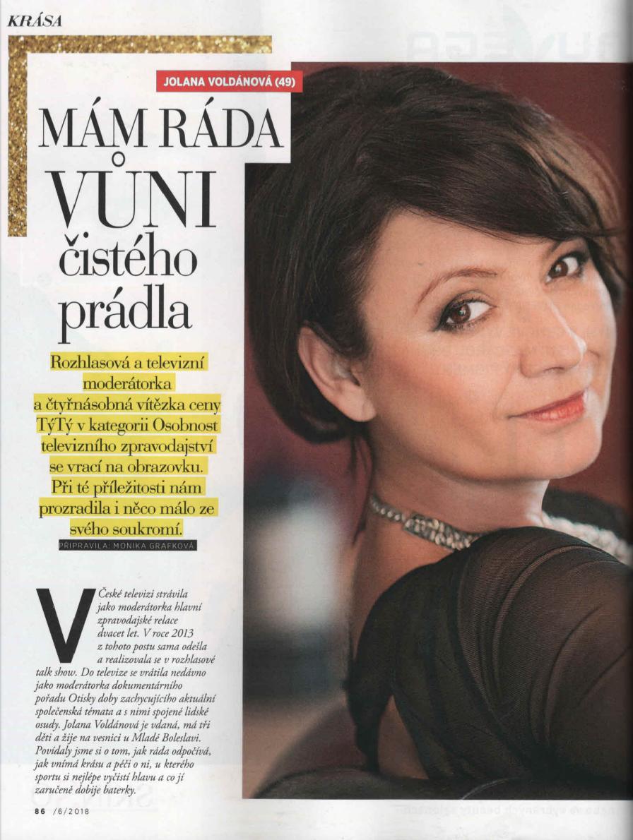 Časopis GLANC a rozhovor s Jolanou Voldánovou nejen o niche parfémech Galimard