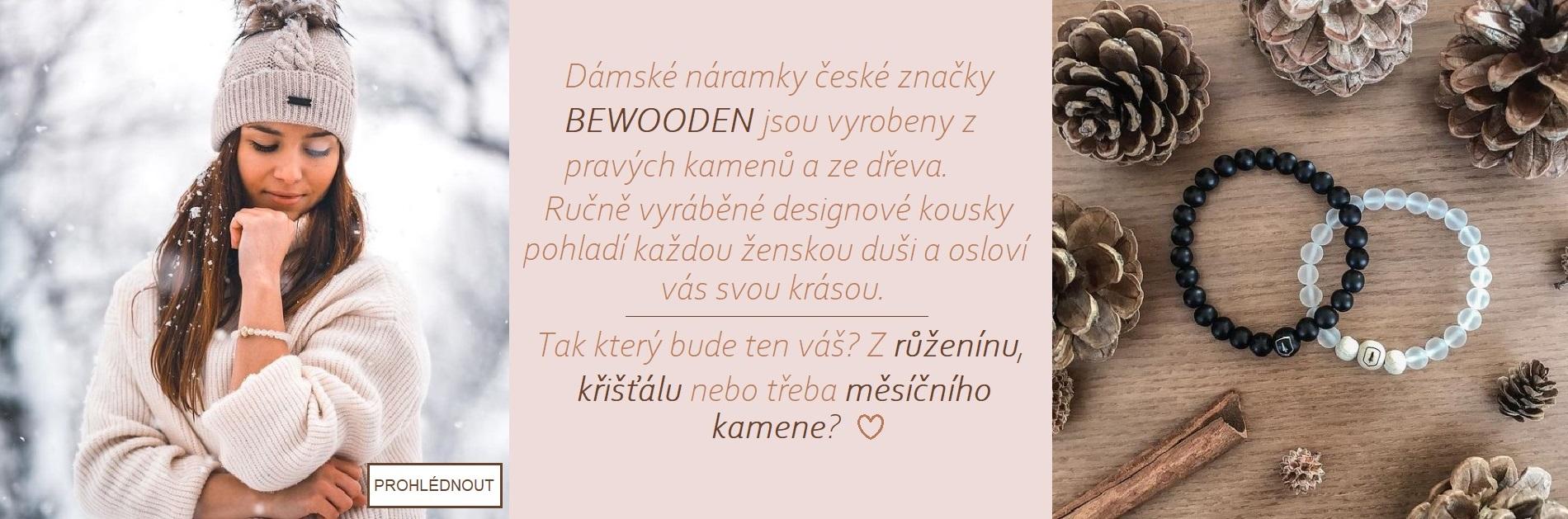 Náramky Bewooden