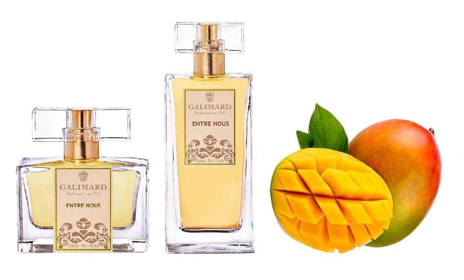 Novinka niche parfém Entre nous Galimard