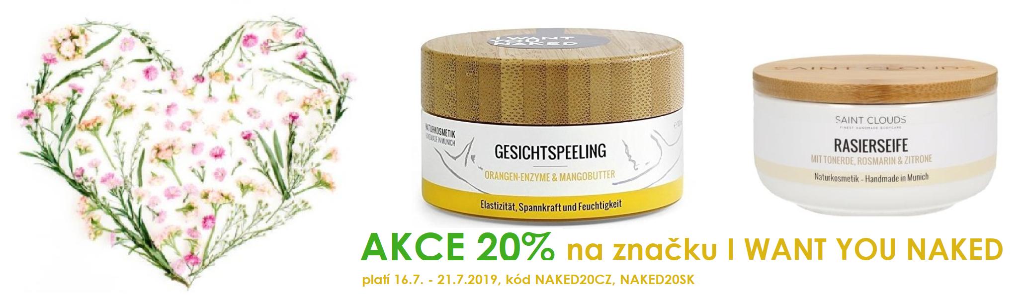 Akce na nemeckou přírodní kosmetiku