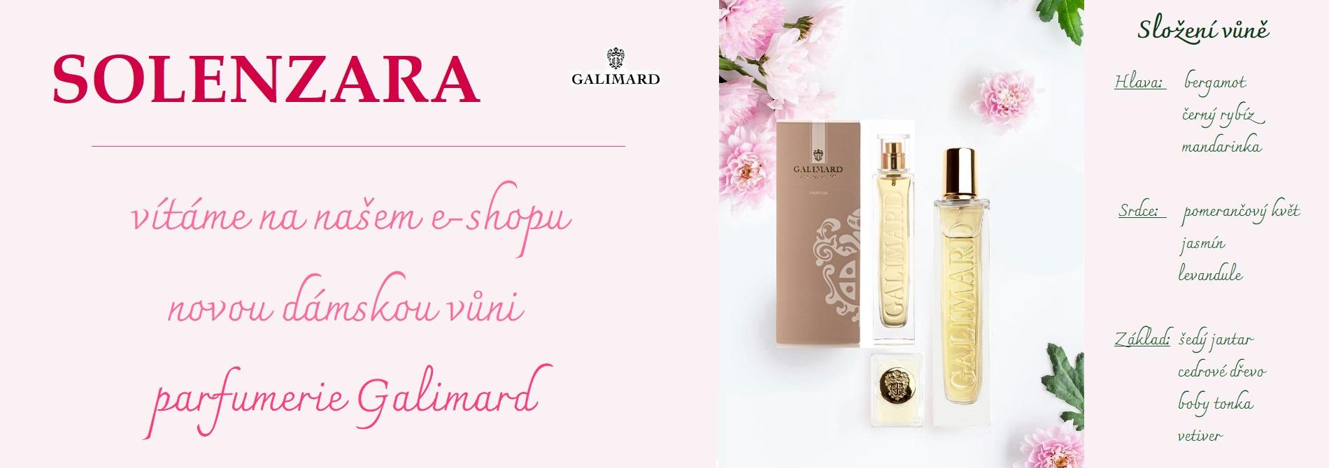 Solenzara nová dámská vůně parfumerie Galimard