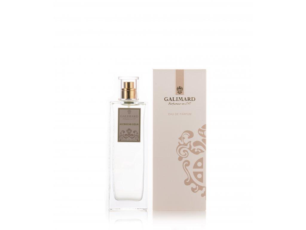 Accroche coeur je francouzský originální niche parfém s podtony skořice luxusní dárek pro ženu parfumerie Galimard eshop distribuce pro Čr a SR
