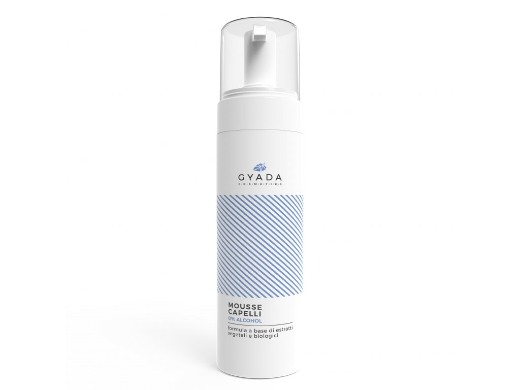 Spray pro větší objem vlasů italská přírodní vegan kosmetika Gyada cosmetics. Výhradní distributor pro Českou a Slovenskou republiku www.amandelux.com