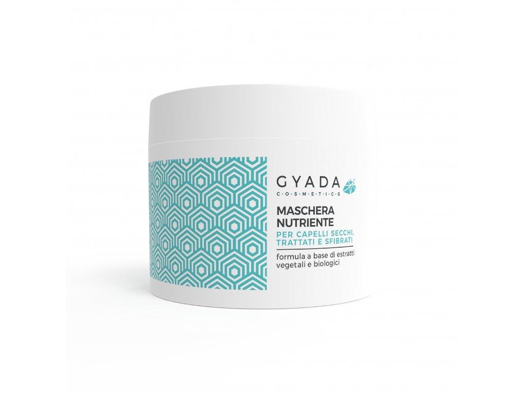 Přírodní vlasová maska s oleji a výtažky z rostlin vegan Gyada Cosmetics Česká a Slovenská republika