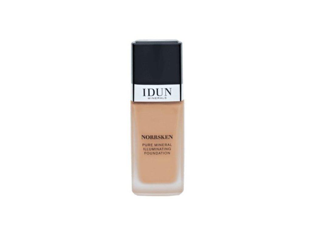 Tekutý makeup pro citlivou plet Idun Minerals