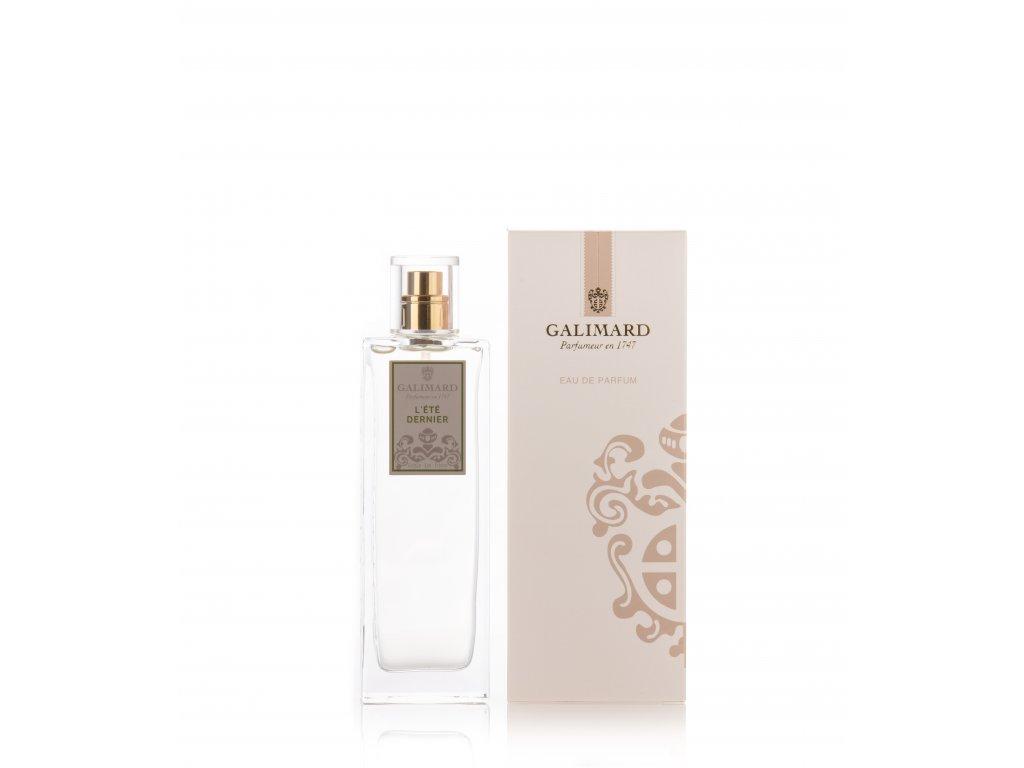 L été dernier francouzský parfém s vůní čistoty a pudru originální dárek pro ženu z parfumérie Galimard eshop Amande Lux