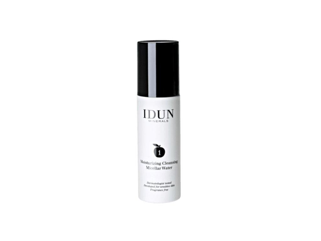 Mirně čistící a zvlhčující micelární voda mineralizovaná Idun Minerals