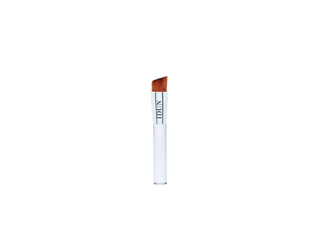Hypoalergenní kosmetický štětec Liquid foundation je ideální ke zapracování makeupu. Vhodný i pro alergiky. Švédská vegan kosmetika Idun Minerals