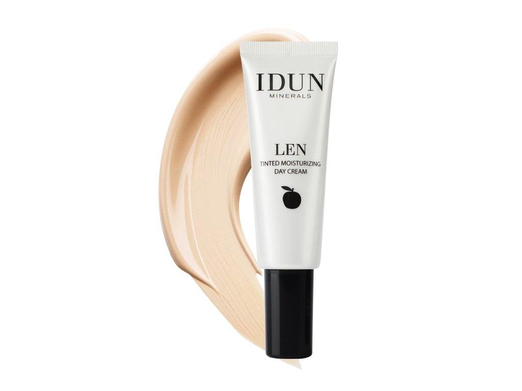 Extra Light Tónovací hydratační krém Len pro citlivou pleť Idun Minerals