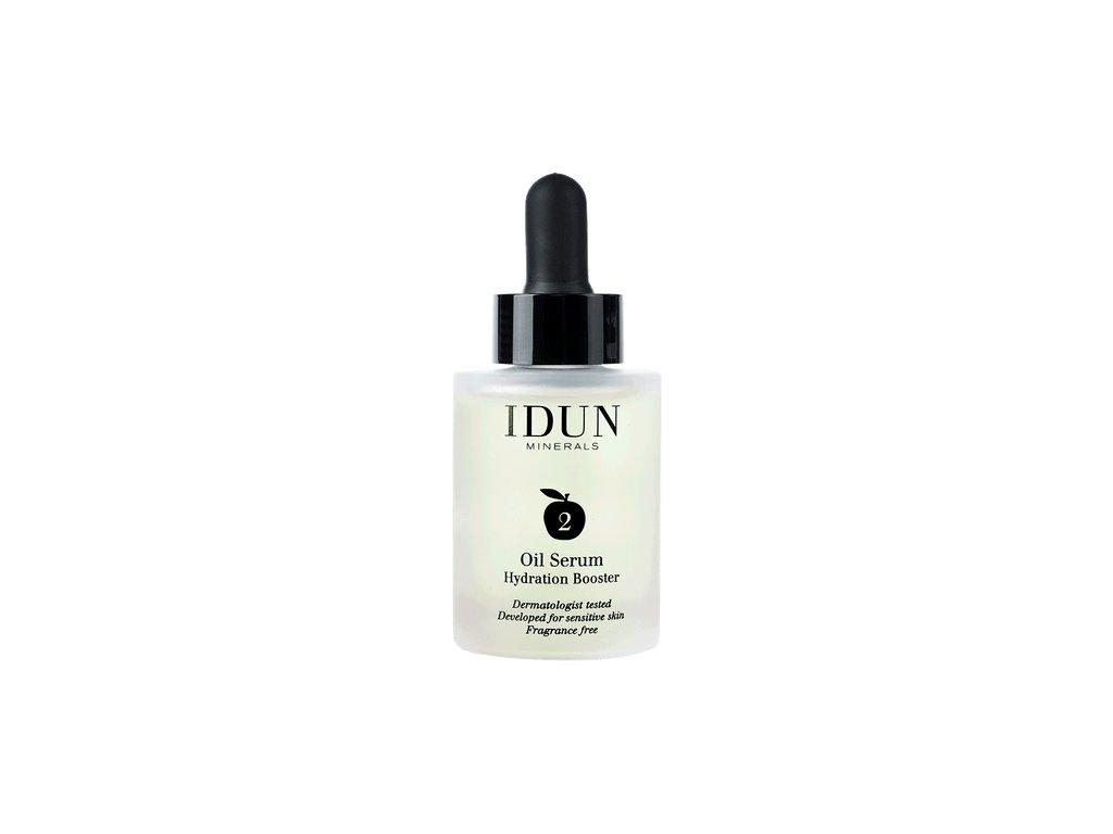 Přírodní olejové sérum vhodné i pro citlivou pleť astmatiky a alergiky idun skincare oil serum