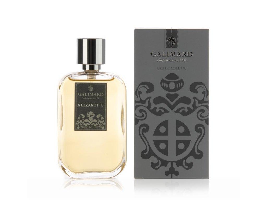 Mezzanotte francouzská niche voda po holení kterou používá James Bond parfumerie Galimard eshop Amande Lux přírodní kosmetika
