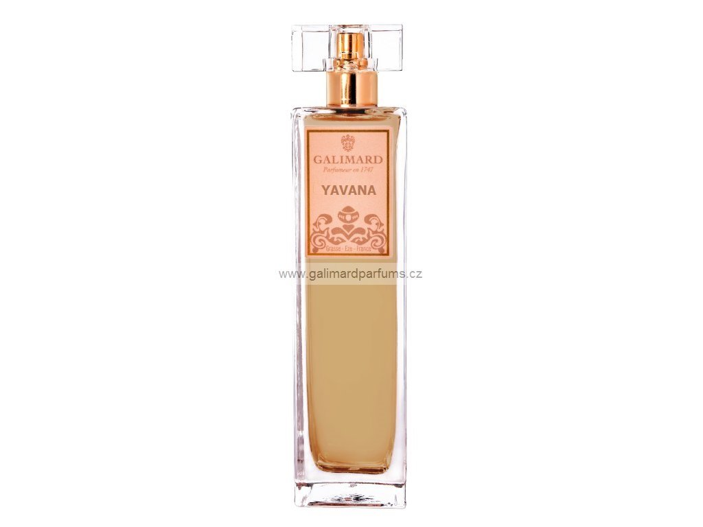 YAVANA dámská niche parfémovaná voda francouzské parfumerie Galimard, výhradní e shop pro Čr, silná kořeněná vůně