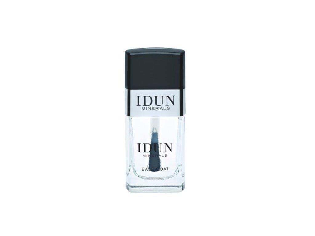Vegan podkladový lak BASE COAT prodávaný v lékárnách švédská přírodní kosmetika Idun Minerals