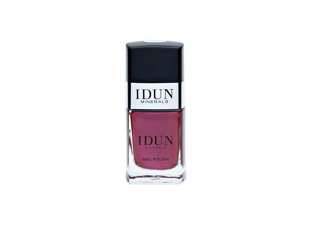 IDUN Nailpolish Almandin minerální vegan lak na nehty švédská kosmetika pro citlivou pleť prodávaná v lékárnách Idun Minerals