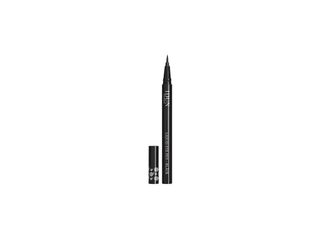 Pero na oční linky s přírodními výtažky vhodné i pro citlivé oči švédská kosmetika Idun Minerals black
