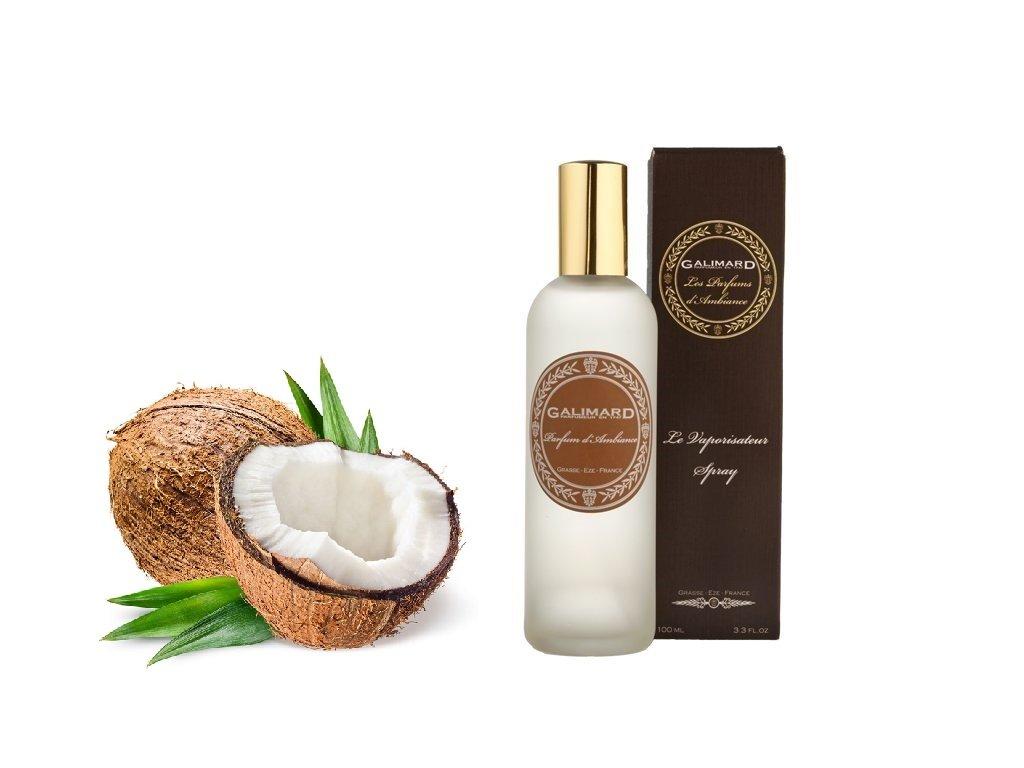 Bytový parfém s vůní vanilky a kokosu z Provence parfumerie Galimard