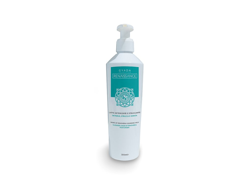 Čistící a odličovací mléko s arganovým olejem Gyada cosmetics