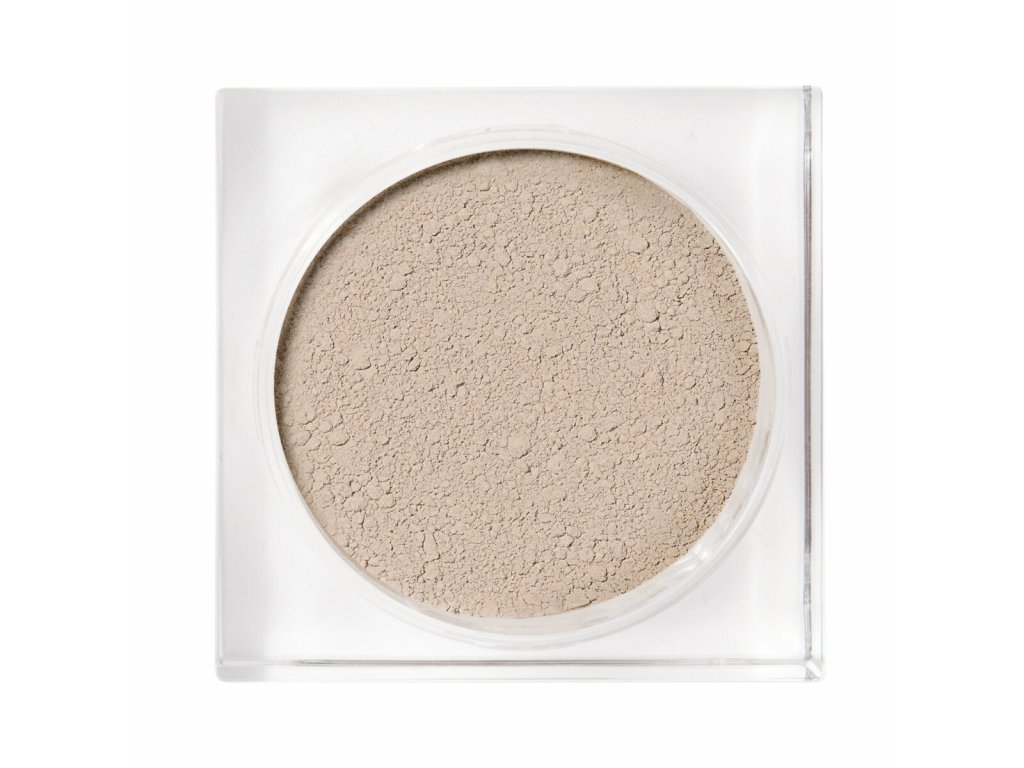 Pudrový makeup s ochranným faktorem a výživou zralé pleti Jorunn Idun Minerals
