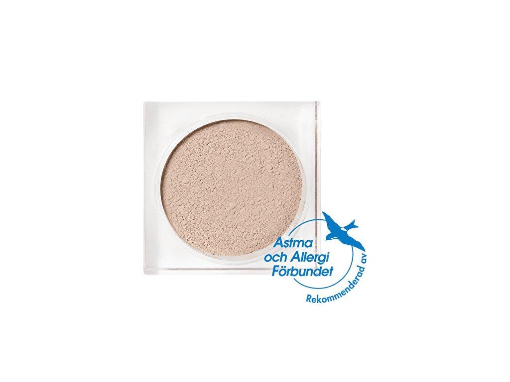 Minerální makeup pudrový světlý neutrální ton pro citlivou pleť Idun Minerals