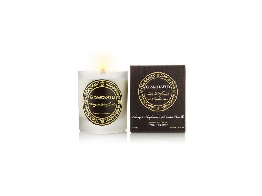 Vonná svíčka parfumérie Galimard se zdravým knotem