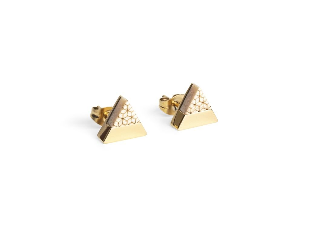 0 virie earrings triangle