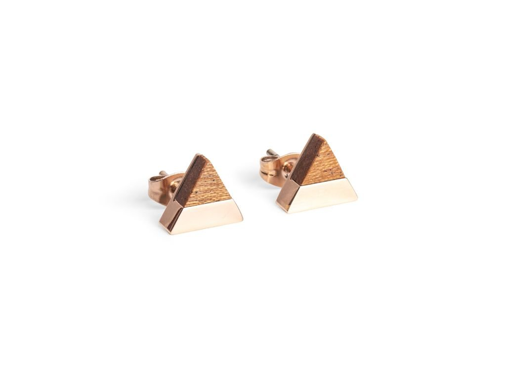 0 rea earrings triangle