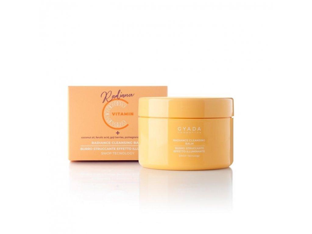 Čistící balzám s vitamínem C rozjasňující vhodný na pigmentové skvrny přírodní kosmetika Gyada Cosmetics