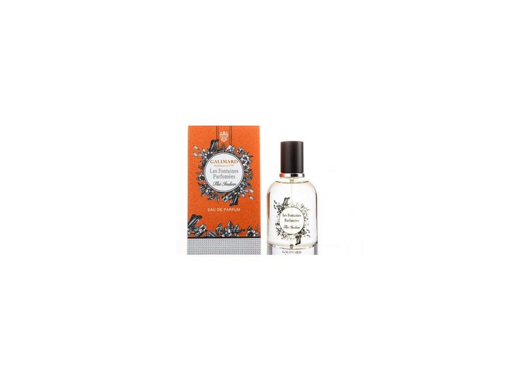 Les Fontaines Parfumées THÉ INDIEN luxusní niche francouzská parfémovaná voda niche parfumerie Galimard