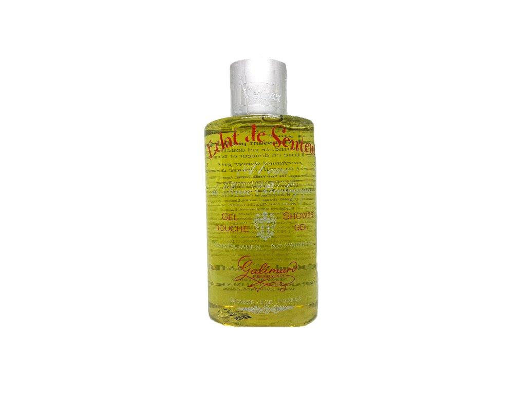 Sprchový gel s organickou růžovou vodou Oslava vůně Vetiver parfumerie Galimard