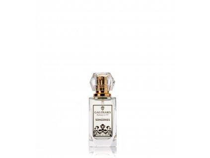 Songeries francouzský niche parfém má v sobě koncentrované sluneční paprsky parfumerie Galimard zakoupíte v eshopu Amande Lux distributor příroední kosmetiky