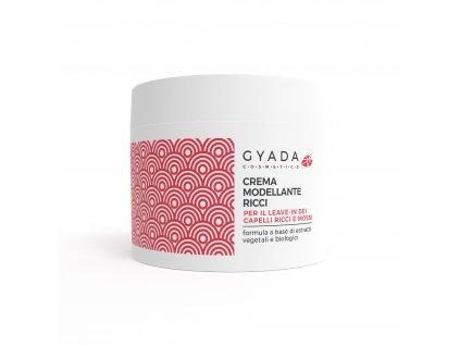Modelující krém na vlnité vlasy vegan italská přírodní kosmetika Gyada Cosmetics testovaná na nikl