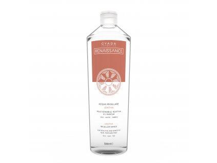 Vegan micelární voda pro citlivou pleť testovaná na nikl italská přírodní kosmetika Gyada Cosmetics výhradní distribuce pro Českou a Slovenskou republiku